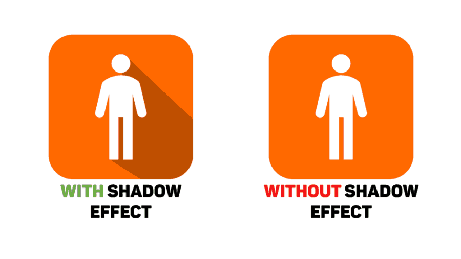 PowerPoint Shadow Effects - 2 Icons