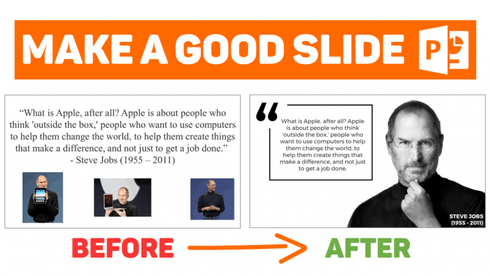 How to design a good quote slide on PowerPoint