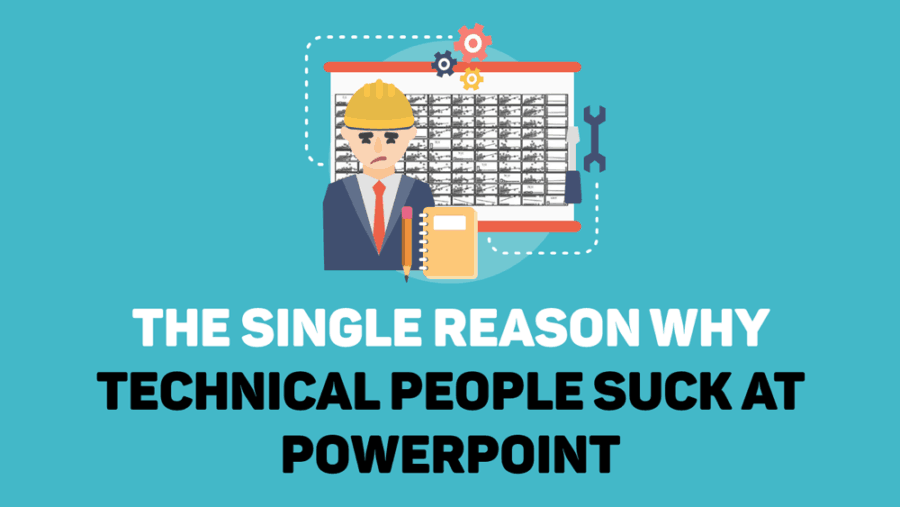 Technical people suck at powerpoint