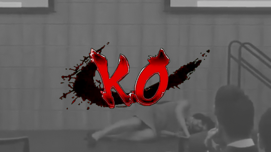 KO - Black Out - A Presentation Tip Learned by Watching a Woman Punch Her Own Face
