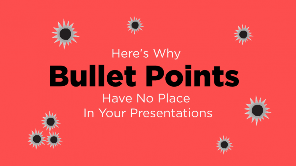 Feature Image - Why Bullet Points Have No Place In Your Presentations