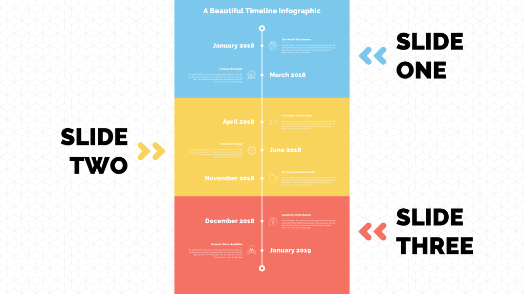 5 simple steps to create the ultimate powerpoint timeline graphic