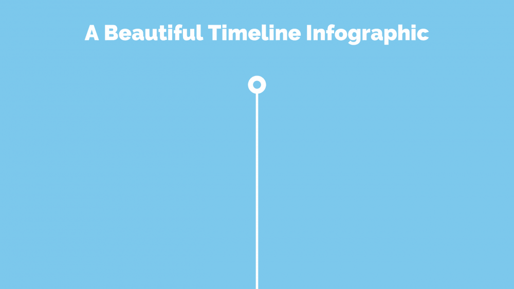 A basis for your timeline infographic