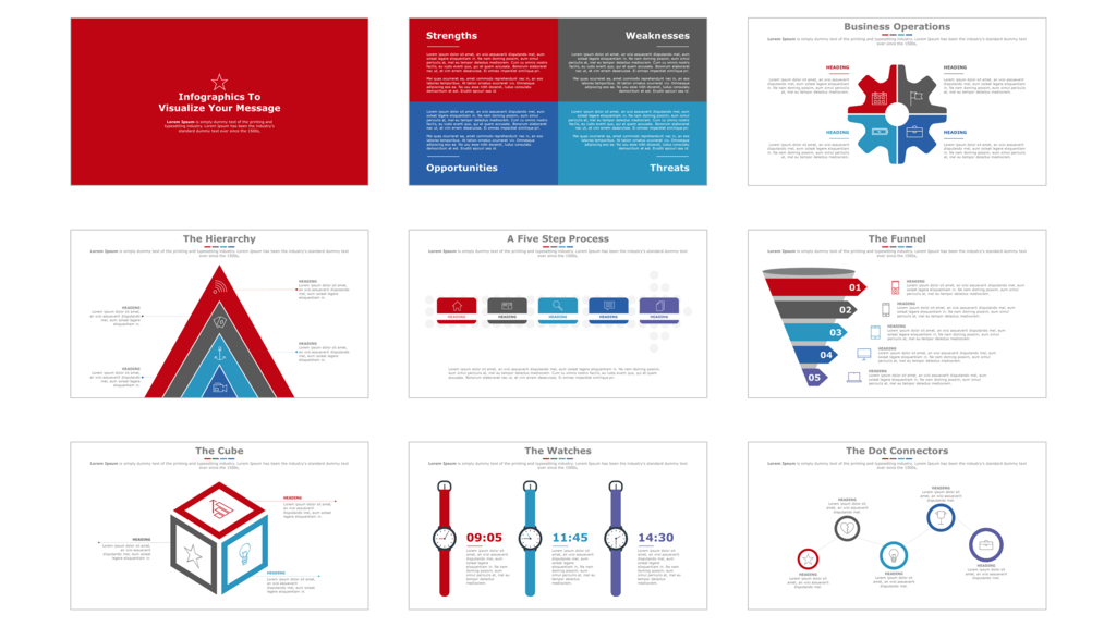 sleek a powerpoint template for business professionals