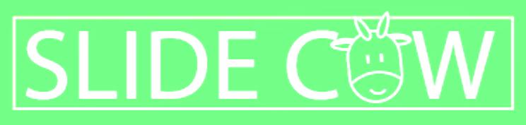 Old Slide Cow Logo