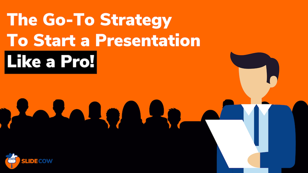 feature image of how you can start a presentation like an absolute boss
