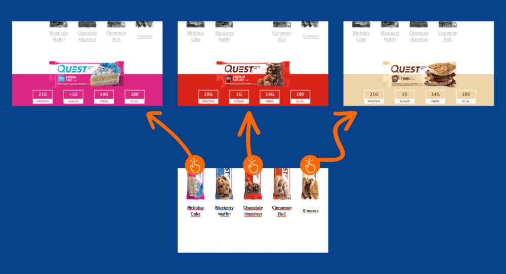 Feature image: Design an interactive menu in PowerPoint featuring quest nutrition
