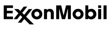 Exxon Mobil - logo - bw