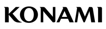 Konami - logo - bw